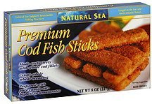 premium cod fish sticks Natural Sea Nutrition info