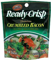 premium crumbled bacon Ready Crisp Nutrition info