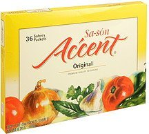 premium quality seasoning original Sa-son Accent Nutrition info