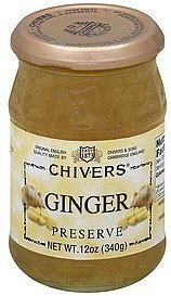 preserve ginger Chivers Nutrition info
