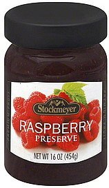 preserve raspberry Stockmeyer Nutrition info