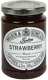 preserve strawberry Wilkin & Sons Ltd. Nutrition info