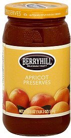 preserves apricot Berryhill Nutrition info