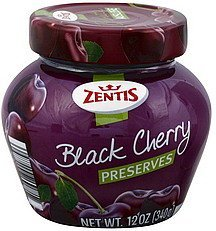 preserves black cherry Zentis Nutrition info
