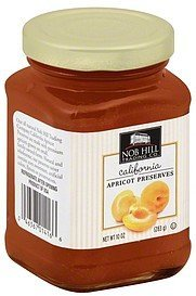 preserves california apricot Nob Hill Trading Co. Nutrition info