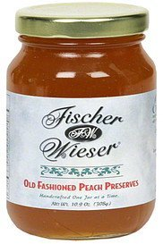 preserves old fashioned peach Fischer & Wieser Nutrition info
