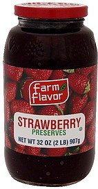 preserves strawberry Farm Flavor Nutrition info