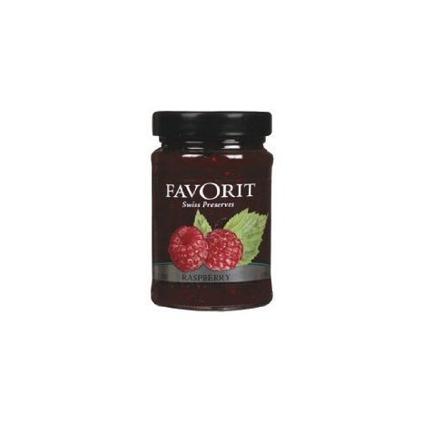 preserves swiss, raspberry Favorit Nutrition info