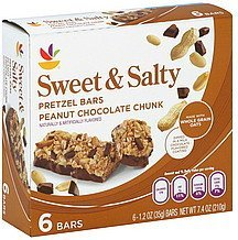 pretzel bars sweet & salty, peanut chocolate chunk Ahold Nutrition info