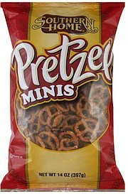pretzel minis Southern Home Nutrition info