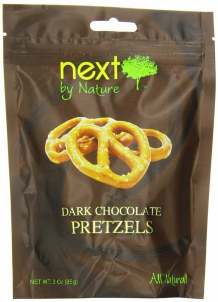 pretzels dark chocolate Next by Nature Nutrition info