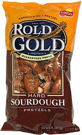 pretzels hard sourdough Rold Gold Nutrition info