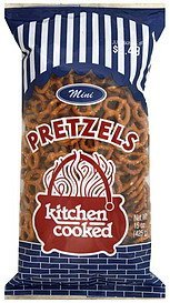 pretzels mini Kitchen Cooked Nutrition info