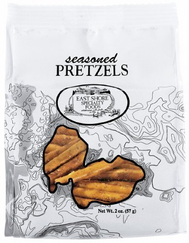 pretzels seasoned East Shore Nutrition info