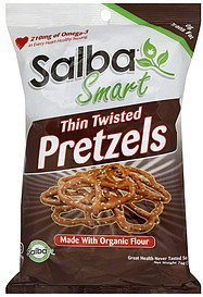 pretzels thin twisted Salba Smart Nutrition info