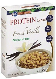 protein cereal french vanilla Better Balance Nutrition info