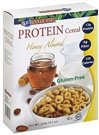 protein cereal honey almond Better Balance Nutrition info