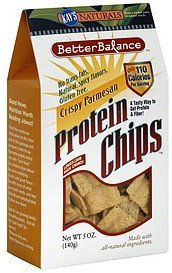 protein chips better balance crispy parmesan Kays Naturals Nutrition info