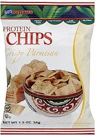 protein chips crispy parmesan Kays Naturals Nutrition info