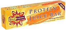 protein juice bar orange passion Cold Fusion Nutrition info