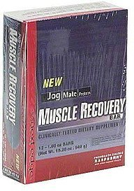 protein muscle recovery bar chocolate covered raspberry Jog Mate Nutrition info