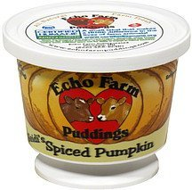 pudding heidi's spiced pumpkin Echo Farm Nutrition info