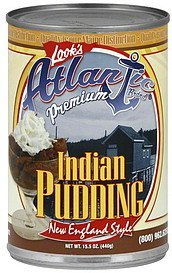 pudding indian, new england style Atlantic Nutrition info