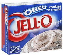 pudding & pie filling instant, oreo cookies n creme Jell-o Nutrition info