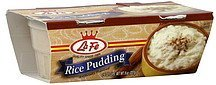 pudding rice La Fe Nutrition info