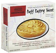 puff pastry sheet Goodwives Nutrition info