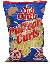 puffcorn curls Old Dutch Nutrition info