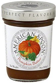 pumpkin butter American Spoon Nutrition info