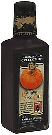 pumpkin seed oil virgin International Collection Nutrition info