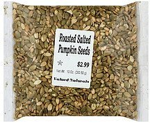 pumpkin seeds roasted salted Valued Naturals Nutrition info