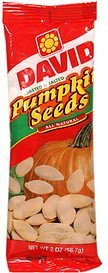 pumpkin seeds Davids Nutrition info