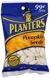 pumpkin seeds Planters Nutrition info