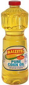 pure corn oil Maizete Nutrition info