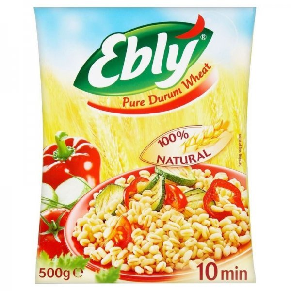 pure durum wheat Ebly Nutrition info