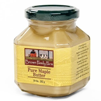 pure maple butter Brown Family Farm Nutrition info