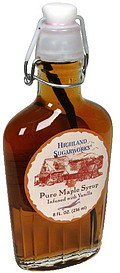 pure maple syrup infused with vanilla Highland Sugarworks Nutrition info