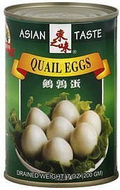 quail eggs Asian Taste Nutrition info