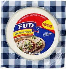 queso fresco mexican style farmers cheese Fud Nutrition info