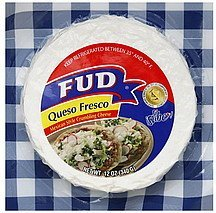 queso fresco Fud Nutrition info