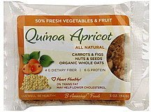 quinoa apricot bar B-Amazing! Foods Nutrition info