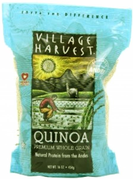 quinoa premium, whole grain Village Harvest Nutrition info
