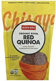 quinoa red, organic royal Alter Eco Nutrition info