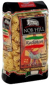 radiatore Nob Hill Trading Co. Nutrition info