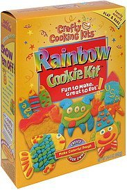 rainbow cookie kit Crafty Cooking Kits Nutrition info