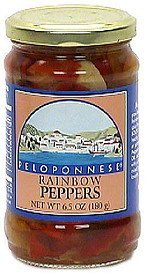 rainbow peppers Peloponnese Nutrition info