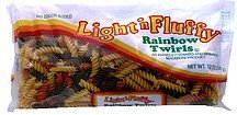 rainbow twirls Light 'n Fluffy Nutrition info